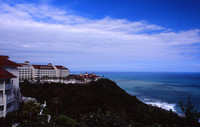 Pacific Ocean view at Bellevista Hotel, Hualien